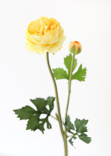 Ranunculus Artificial Flowers in Yellow