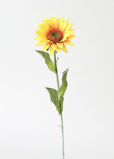 Fake Silk Flowers Artificial Sunflower in Golden Yellow