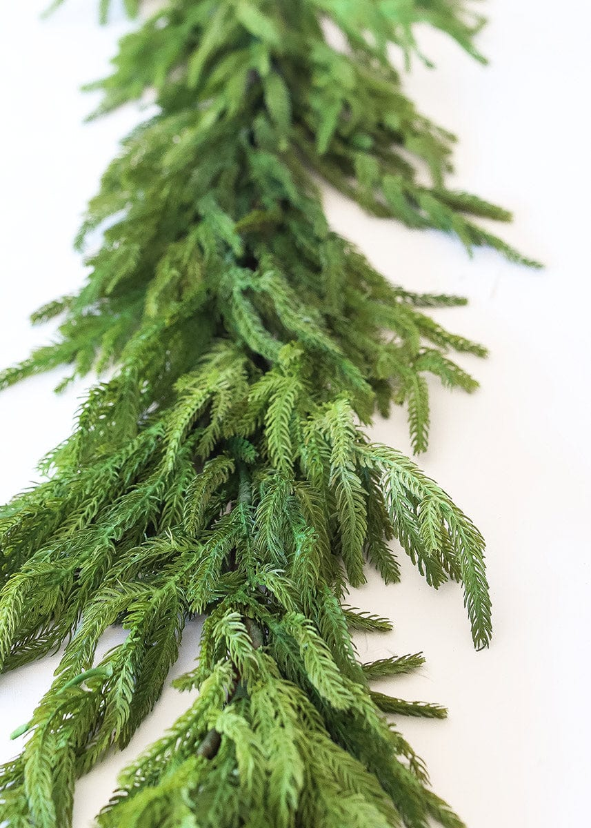 Real Touch Norfolk Pine Garland - 60""