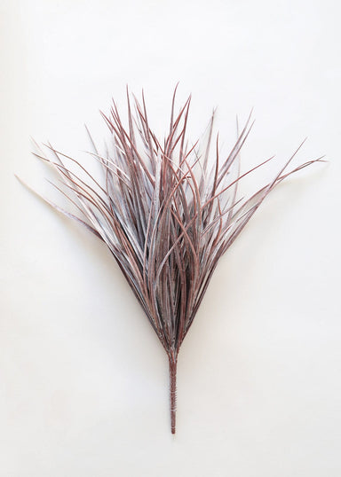 Dusty Purple Fake Grass Bush