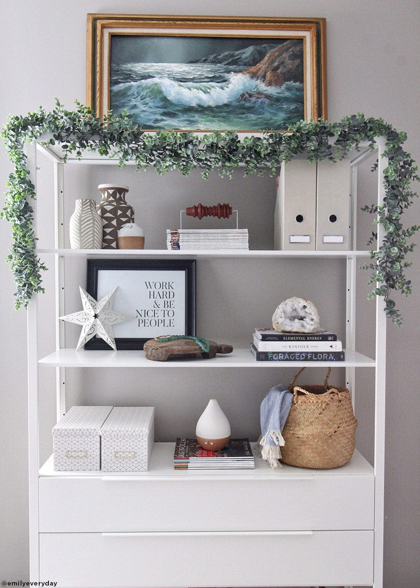 Artificial Eucalyptus Garland for Indoor Use