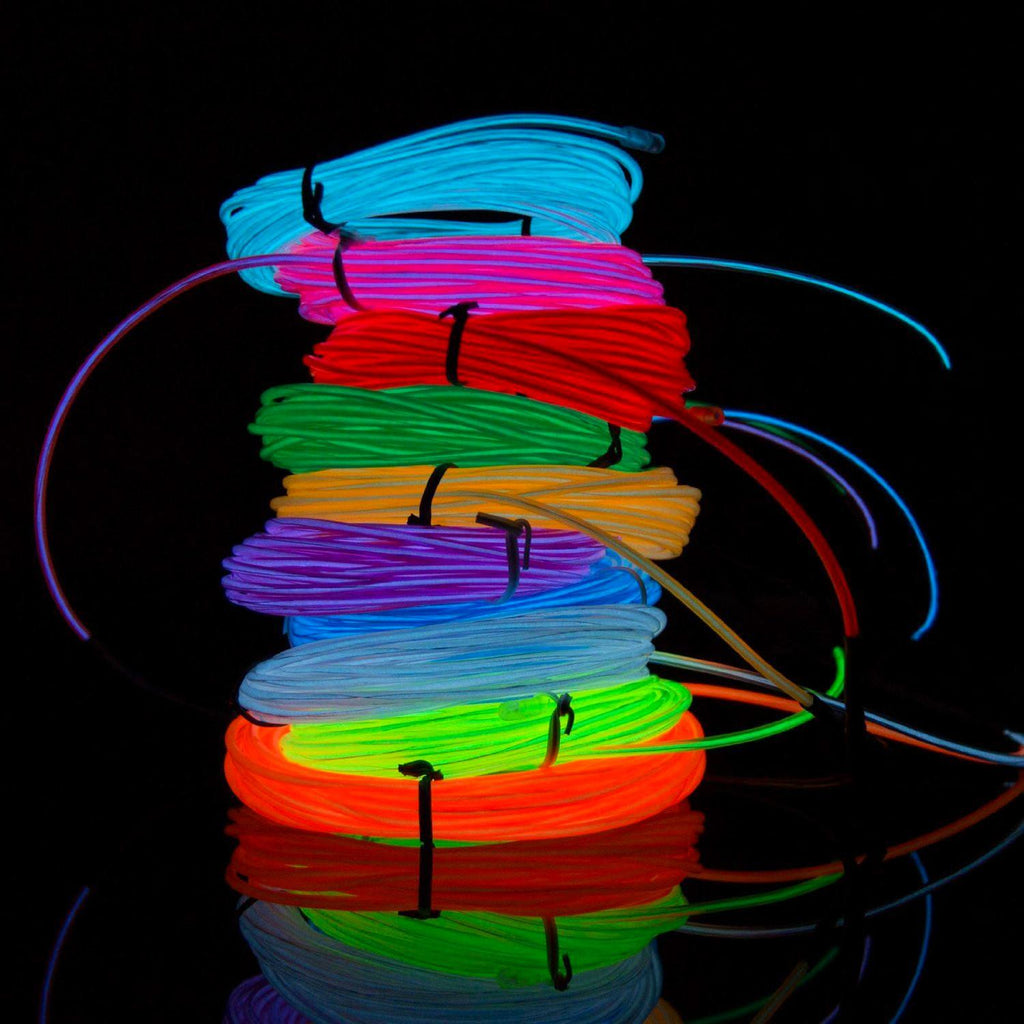 Quot wild wire m neon light flexible deal archer