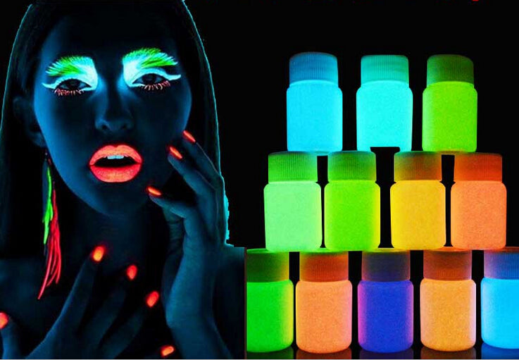 """Glow Paint"" Glow In The Dark Acrylic Paint"