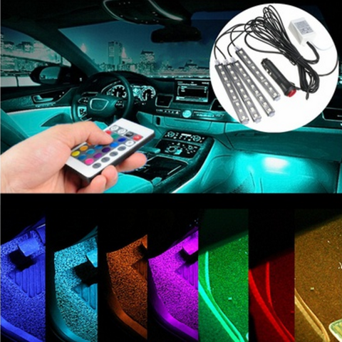 """Inner Glow"" Car Interior Lighting Kit"