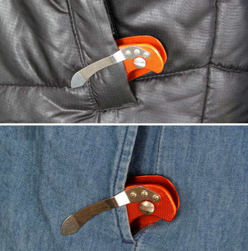 KeyBreeze - Folding Aluminum Key Holder