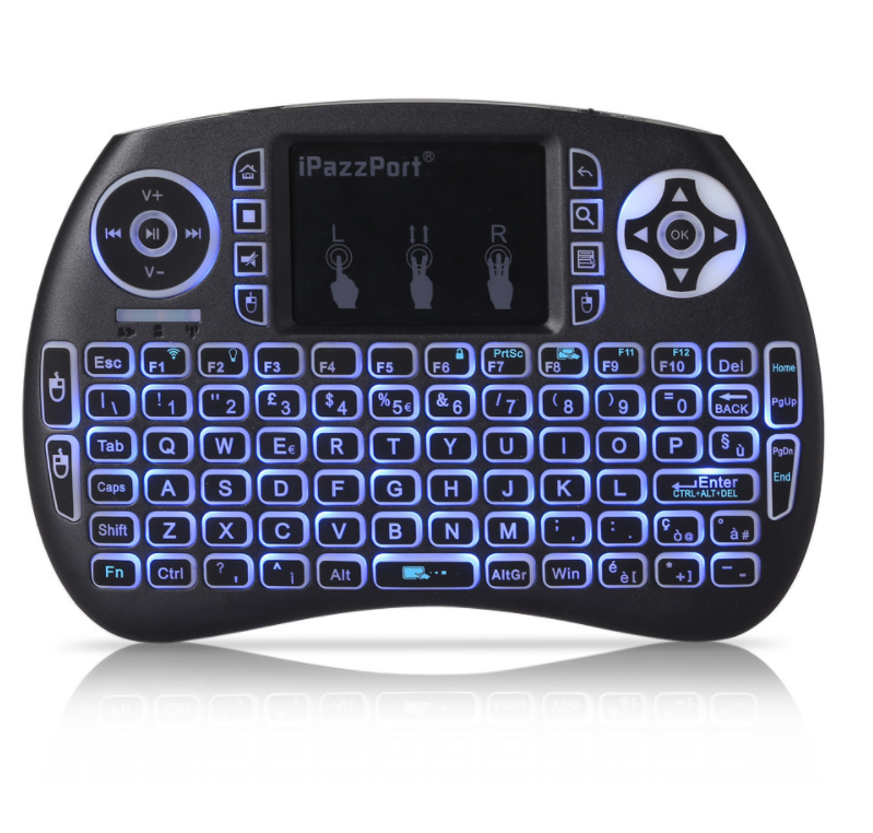 """Keyboard Controller"" Handheld Wireless Keyboard Controller / Touch Pad"