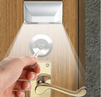 LED Motion Sensor Keyhole Light