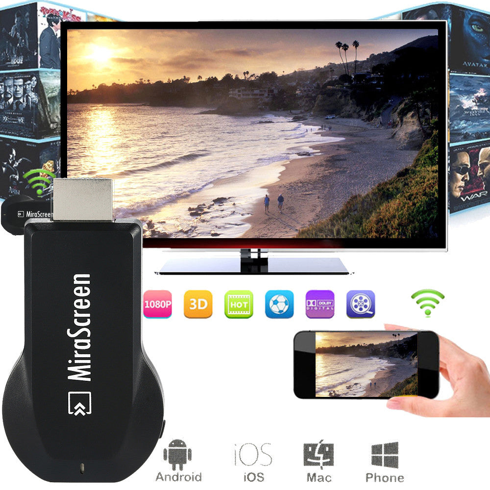 """Mirror Image"" Phone to TV WiFi Display Receiver"