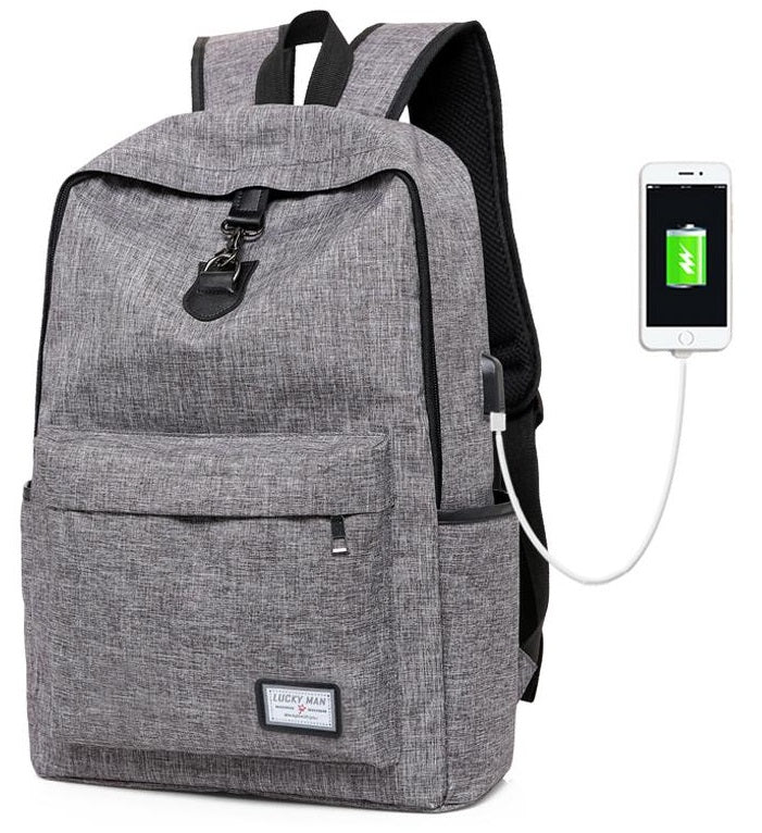 """Chargepack"" USB Charging Backpack *60% OFF!"