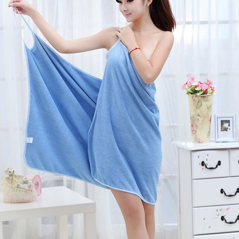 Towel Dress - Wearable Towel