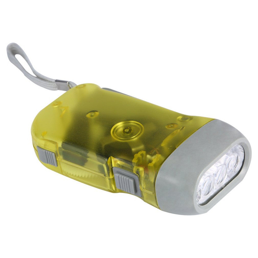 """Crank Light"" Wind Up Powered Flashlight"