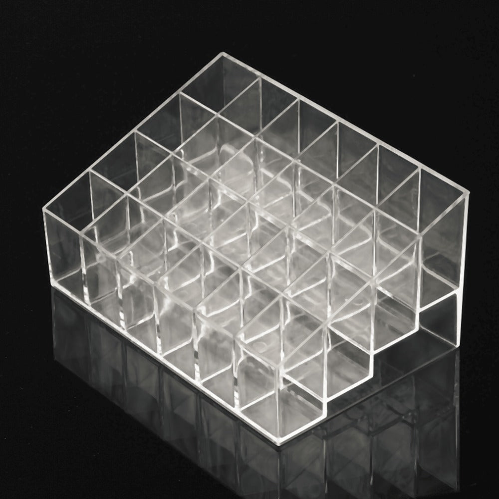 """Beauty Stand"" 24 Grid Cosmetic Organizer"