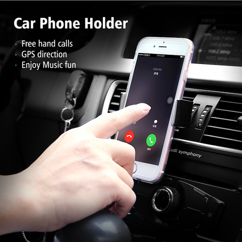 """Slick Grip"" Universal Air Vent Phone Holder"