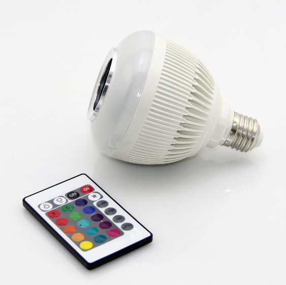 Bluetooth Speaker Light Bulb 12W