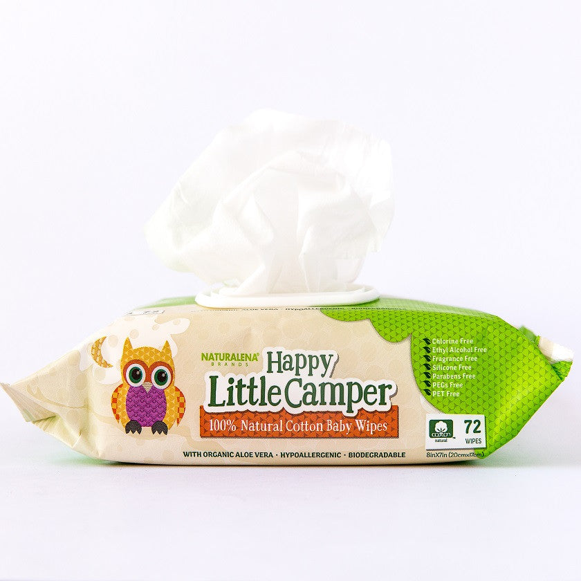 Natural Baby Care Products Baby Wipes Happy Little Camper
