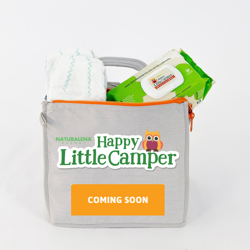 Natural Baby Care Products - Baby Wipes | Happy Little Camper