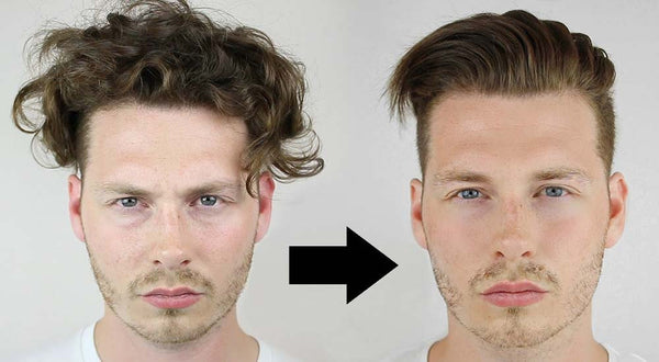 Hair Straightening for Men: How to Tame Your Waves and Curls