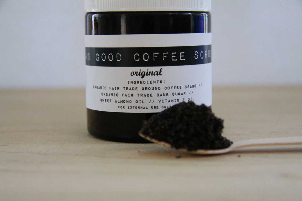 Damn Good Coffee Scrub // Original