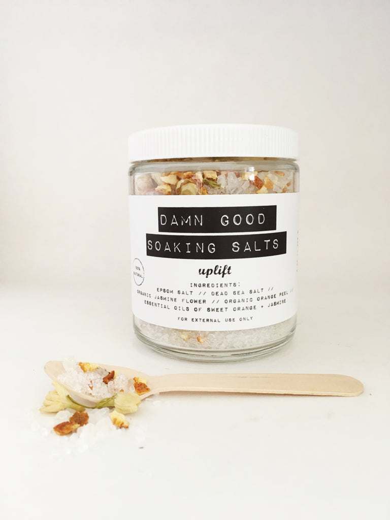 Damn Good Soaking Salts // Uplift