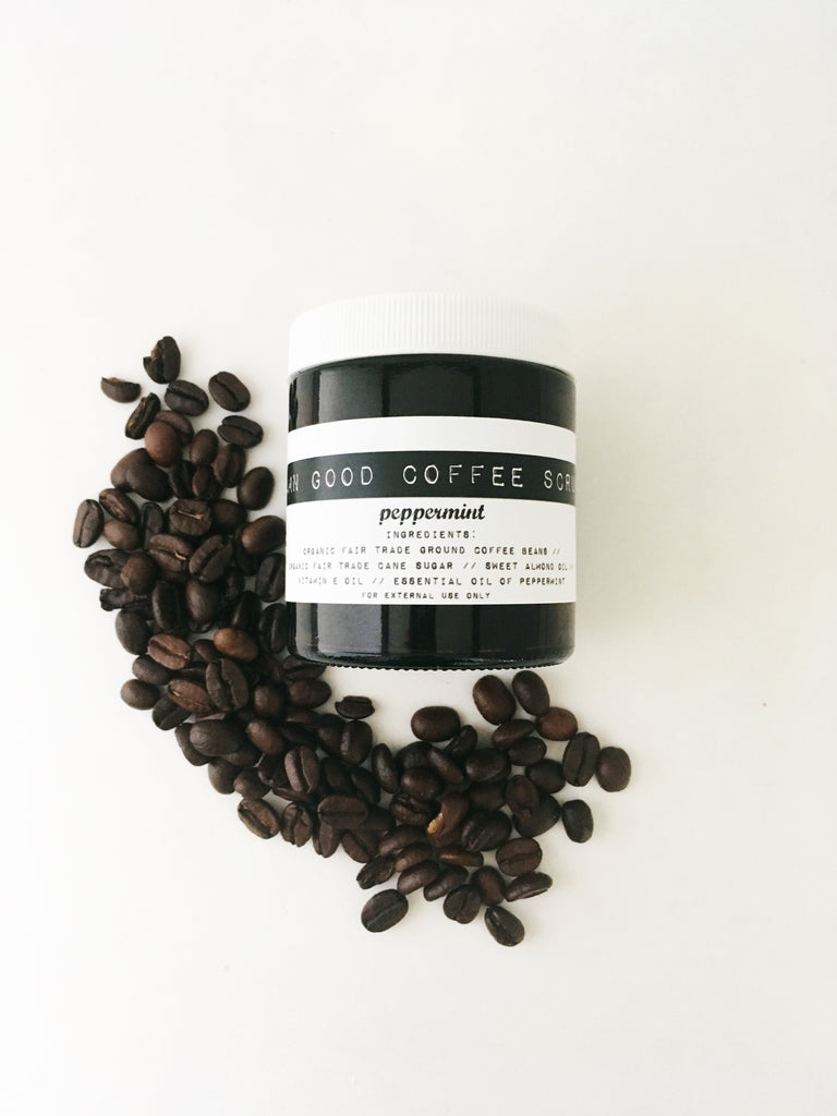 Damn Good Coffee Scrub // Peppermint