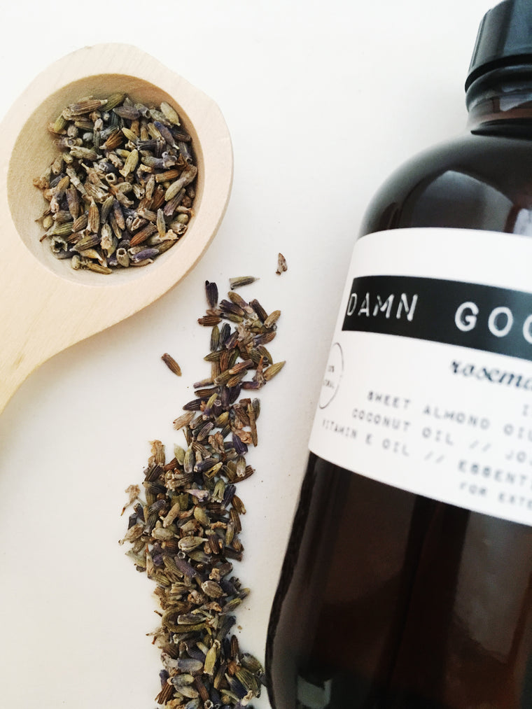 Damn Good Body Oil // Rosemary + Lavender