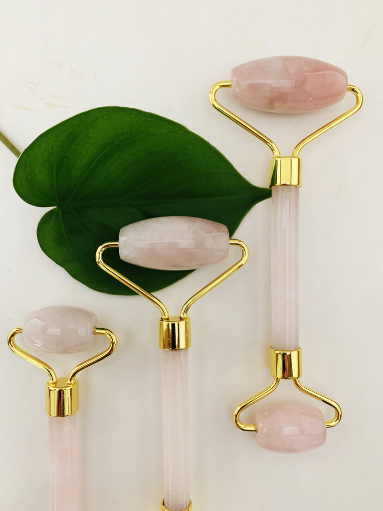 Rose Quartz Facial Roller