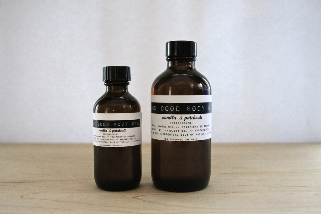 Damn Good Body Oil // Vanilla + Patchouli