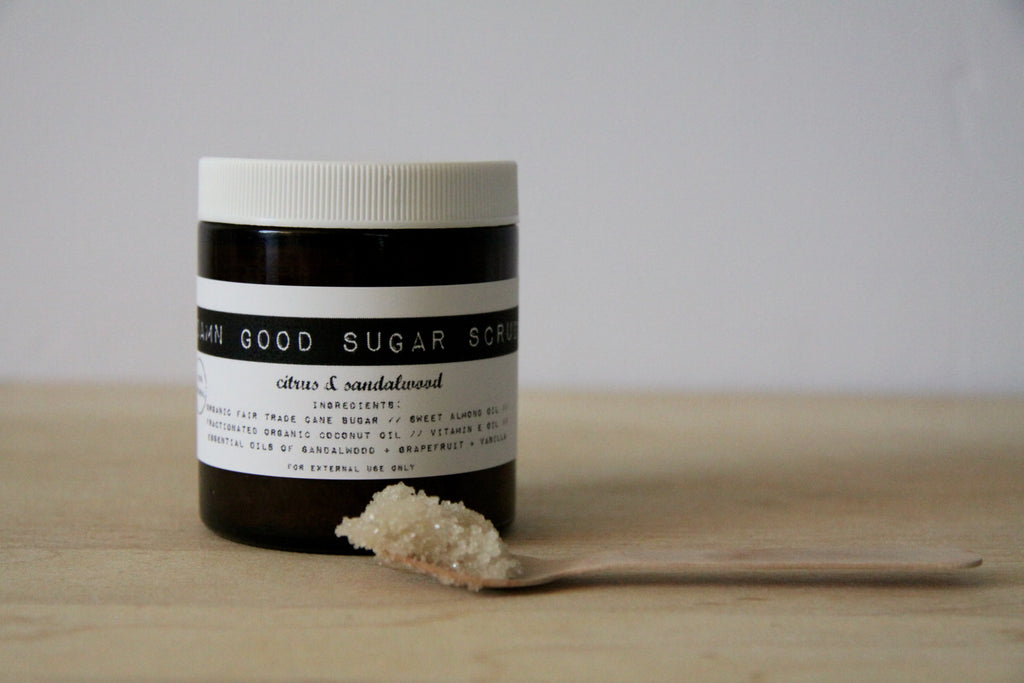 Damn Good Sugar Scrub // Citrus + Sandalwood