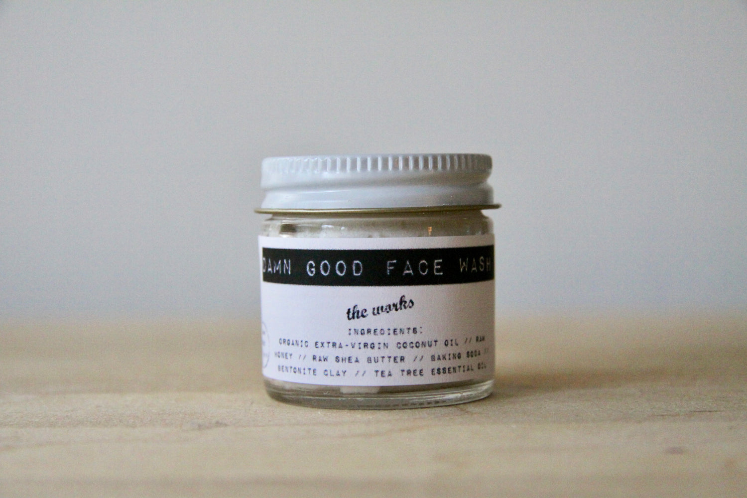 Damn Good Face Wash // The Works