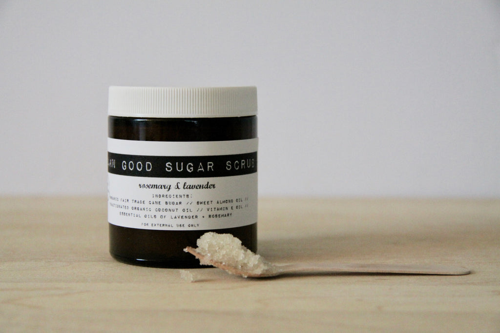 Damn Good Sugar Scrub // Rosemary + Lavender