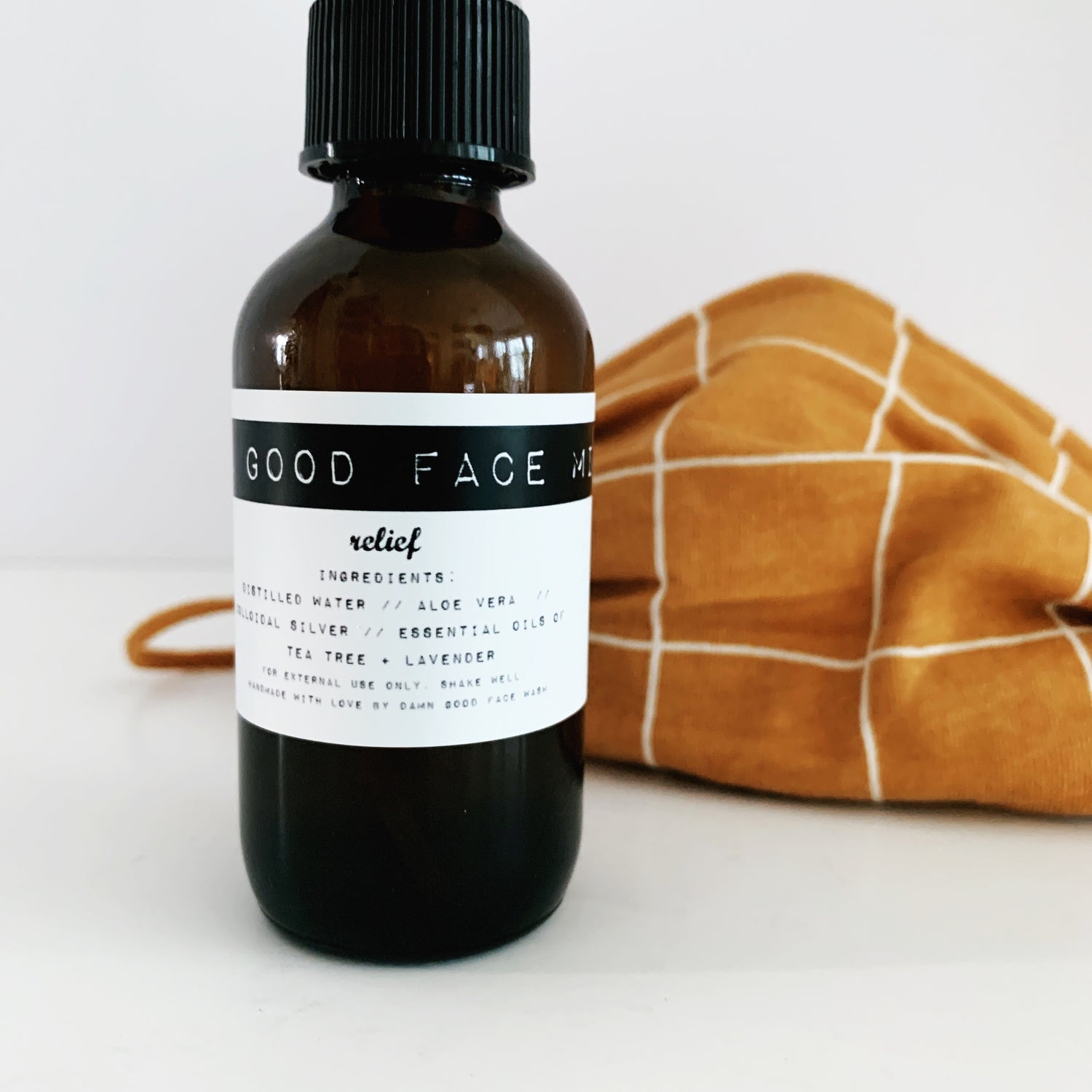 Damn Good Face Mist // Relief (tea tree +  lavender)