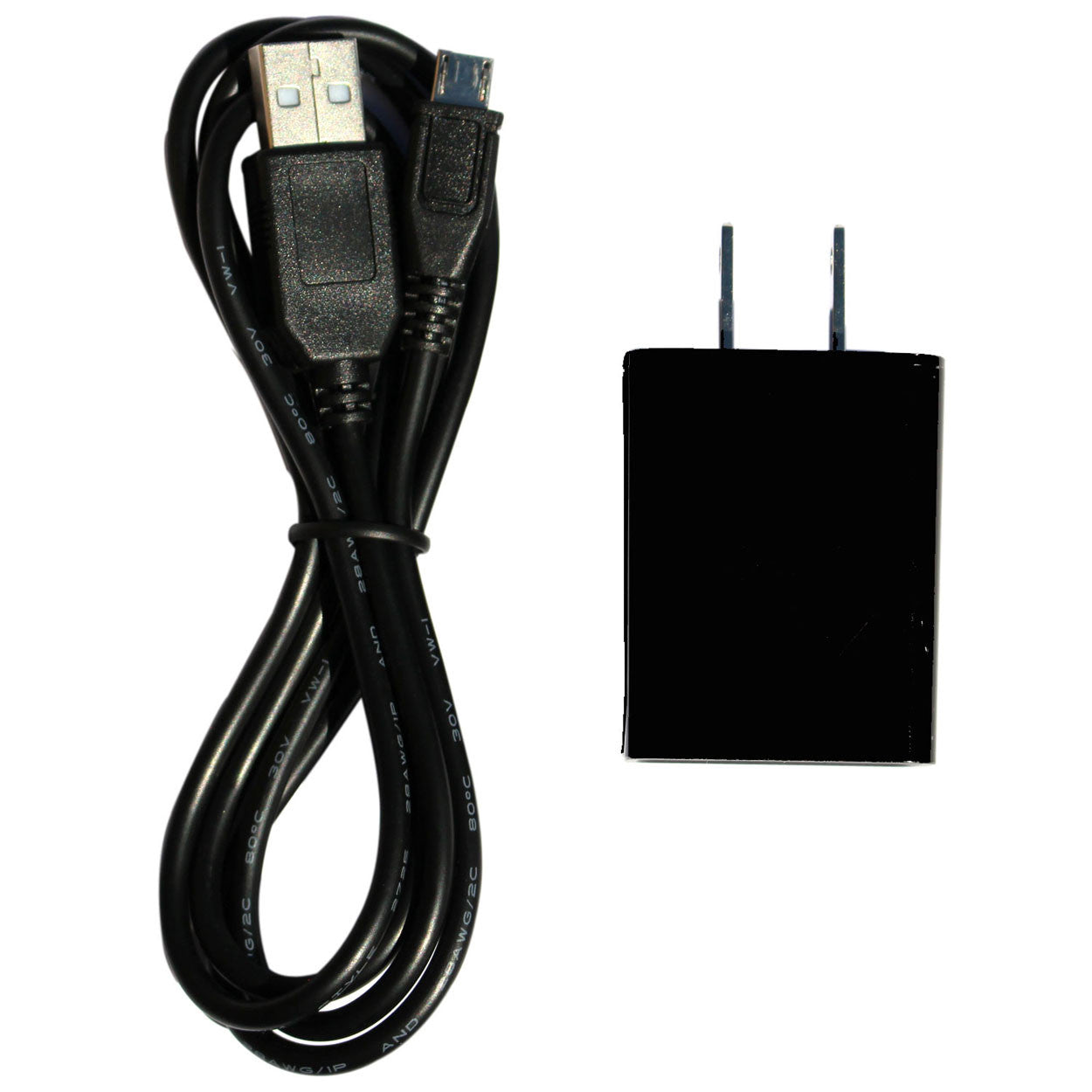 AC Adapter with Micro USB for Windows Tablet (TM800W610L, TM800P610L, TM818, TM101W535L, TM101W545L, TM800W560L)