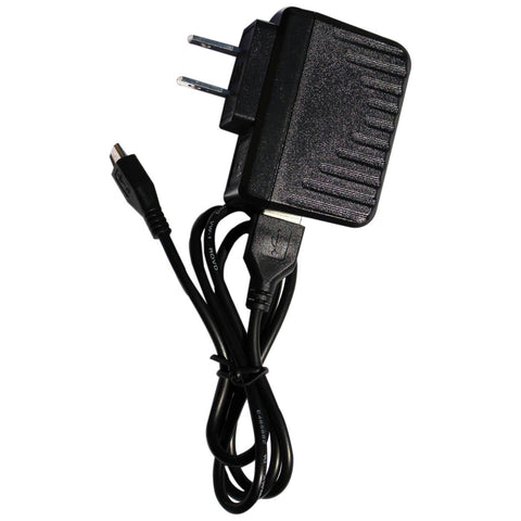 AC Adapter with Micro USB for Android Tablet (TM800A620M, TM101A620M, TM800A510L, TM800A520L, TM101A510L, TM101A530L, TM101A540N, TM700A520L)