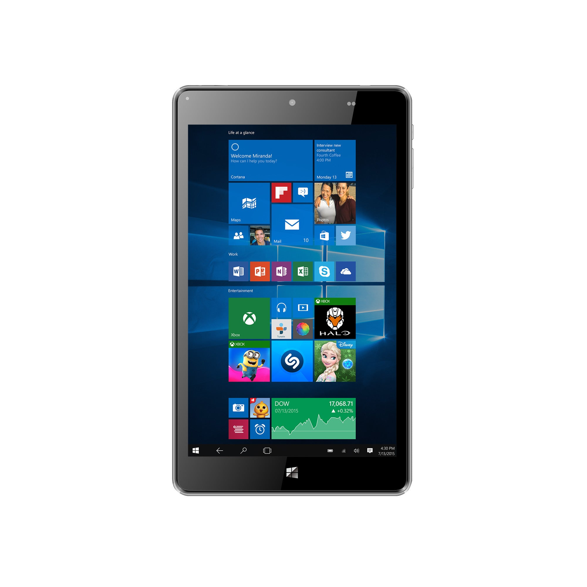 "TM800P610L 8"" Full HD Signature Edition w/Windows 10 Pro Tablet"