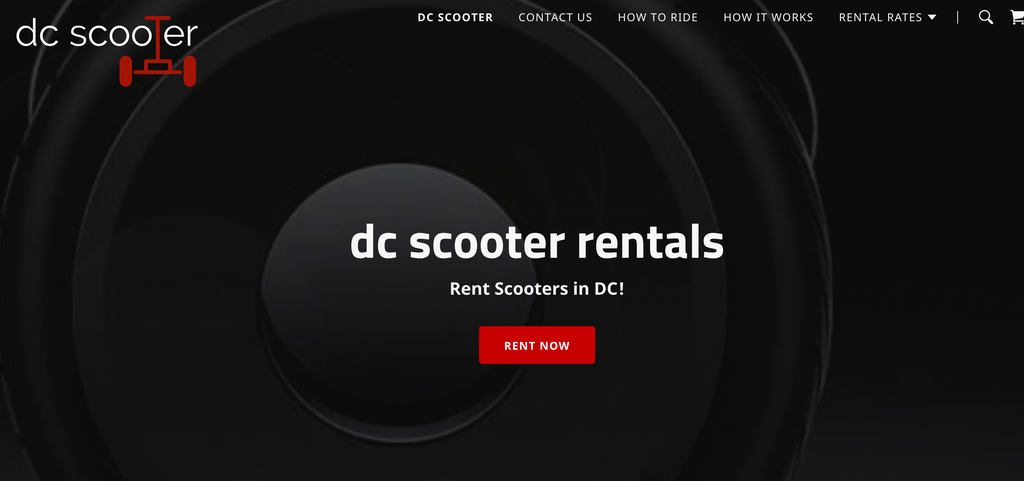 DC Scooter uses M4M Partner Fleet in Washington, DC