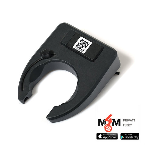 M4M Private Fleet - M4M IoT 4G Shareable Bicycle Lock (GPS + GPRS+Bluetooth)