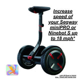 Software - Original Base With SwallowBot Firmware For Segway MiniPRO And Ninebot S Preinstalled