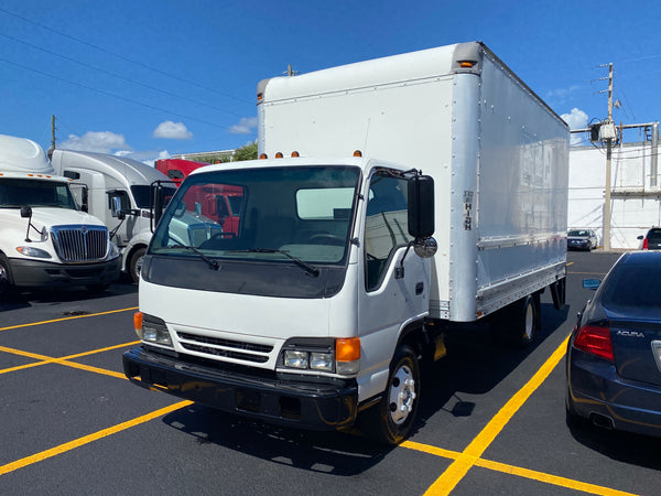 2003 Isuzu / GMC 4500 Box Truck with Liftgate, setup as Service Truck