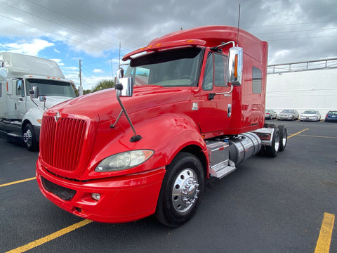 2014 International Prostar+ 605k+ miles, Long Wheel Base,  Virgin tires, Inverter, Fridge