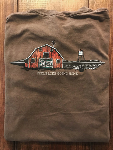 Barn Chocolate Short Sleeve Tee