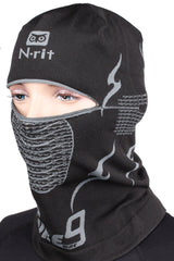 Balaclava Ski Face Mask N-rit Tube 9 Headwear - Assorted Design 2pcs/3pcs