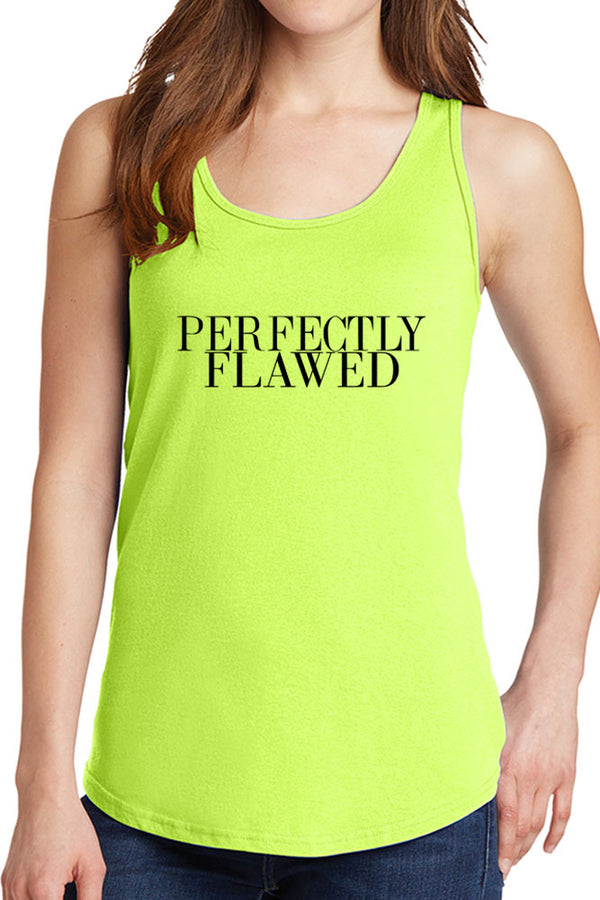 Women's Perfectly Flawed Design Core Cotton Tank Tops -XS~4XL
