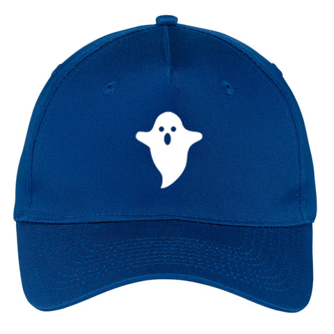 Ghost Glow in the Dark Graphic Printed 5 Panel Twill Caps for Men & Women