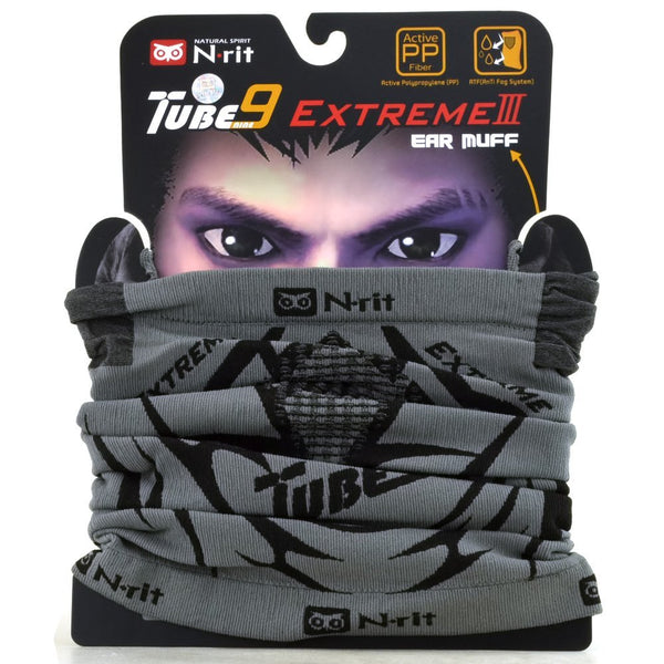 Fleece Neck Warmer N-Rit Tube 9 Extreme 3 Face Mask Headwear Ear Muff - Assorted Design 2pcs/3pcs