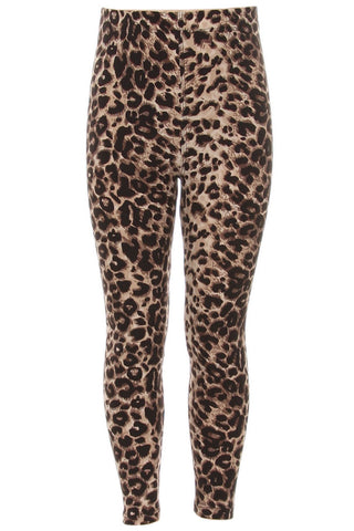 Kid's Colorful Cheetah Animal Pattern Printed Leggings