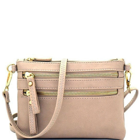 Designer Inspired Fashion Multi Pocket Versatile Wristlet Crossbody Bags