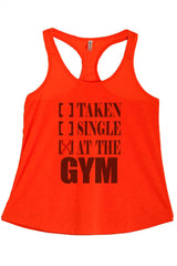 Women's PLUS At the Gym Printed Graphic Polyester Tank Top