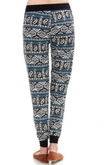 Women's Regular Swirl Paisley Jogger Leggings