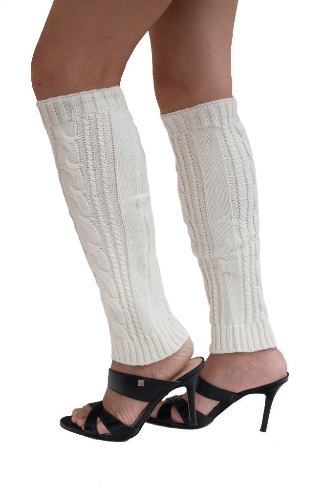 Women's Knitted Leg Warmers