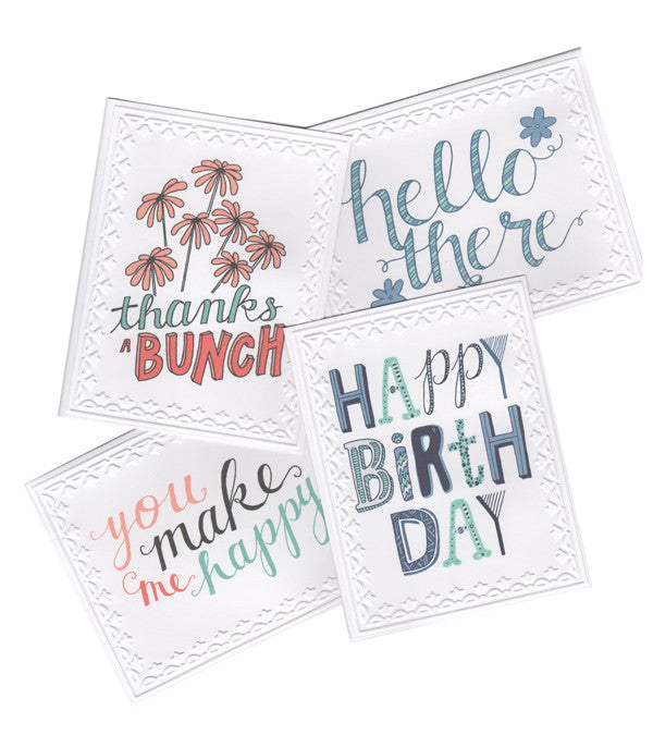 Greeting Card Starter Pack - Set of 7